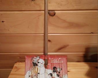 Vintage Metal Toy Snow Shovel