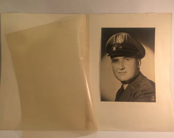 US Army serviceman cabinet photo taken in Casablanca