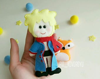 Little Prince Le Petit Prince Felt Toy Baby Crib Baby Mobile