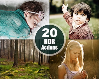 HDR Effects Photoshop Elements Actions