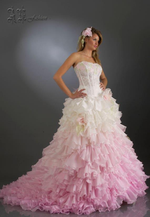 Bridal Silk Dress Pink Skirt Gown Separates Ruffle Wedding Skirt Wedding Princess Skirt Fluffy Bridal Wedding Wedding Ball Skirt pxfwqF8Sx