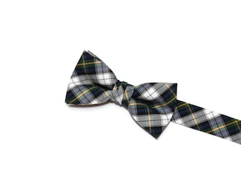 Boys Tartan Bow Tie~Boys Bow Tie~Boys Plaid Bow Ties~Cotton Bow Tie~Church Tie~Ring Bearer~