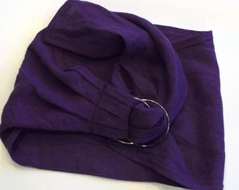 LARGE Doll Ring Sling Carrier - Majestic Purple