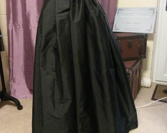 Steampunk Skirt, Custom JOSEPHINE UNDERSKIRT, Victorian Skirt, Victorian Costume, Bustle Skirt, Goth Skirt