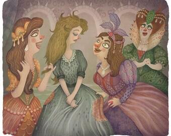 Cinderella - Art print