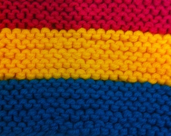 Pansexual LGBT Pride Scarf  **price drop**
