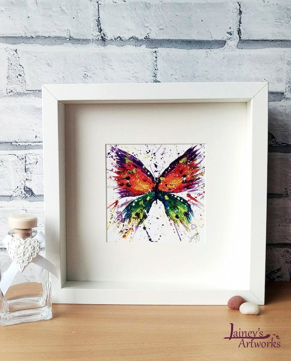 Butterfly PRINT nature print butterfly butterflies garden