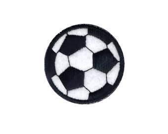 Soccer Ball fer sur Applique, Patch football, Soccer Ball Patch, Patch Football, les garçons Patch, Patch amusant, les enfants Patch, broderie Patch