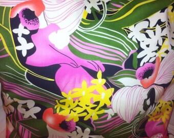16x16 cotton floral pillow cover