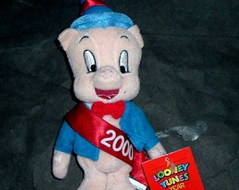 PORKY PIG (JANUARY) Polyester Stuffed