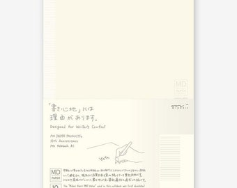 Midori MD Notebook - 10th Anniversary Edition - A5 - Lined with Margin