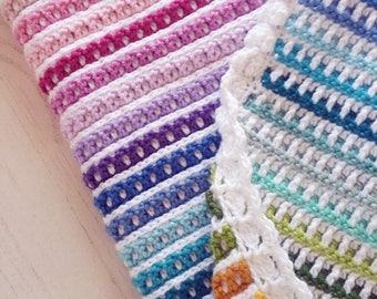 Crochet Pattern, Janus Blanket, Afghan, Baby Blanket, Crib Blanket