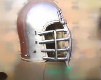 Simple Кeliable Helmet, French Knight's Helmet, Іtalian Knight's Helmet, Spanish Knight Helmet, Danish Knight's Helmet, HMB-IMCF-SCA Helmet