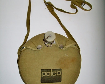 Vintage Palco Canteen Boy Scout Collectible Canteen Olive Green Canvas