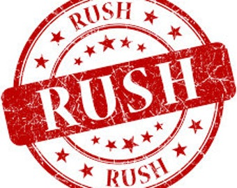 RUSH MY ORDER - Rush Processing for Your BarnLove Order