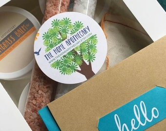 Give the gift of BALM // THA's HELLO goodie box // <<