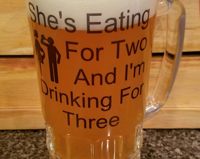 Dad Beer Stein Gift For Dad Baby Shower Gift Baby Gift Baby