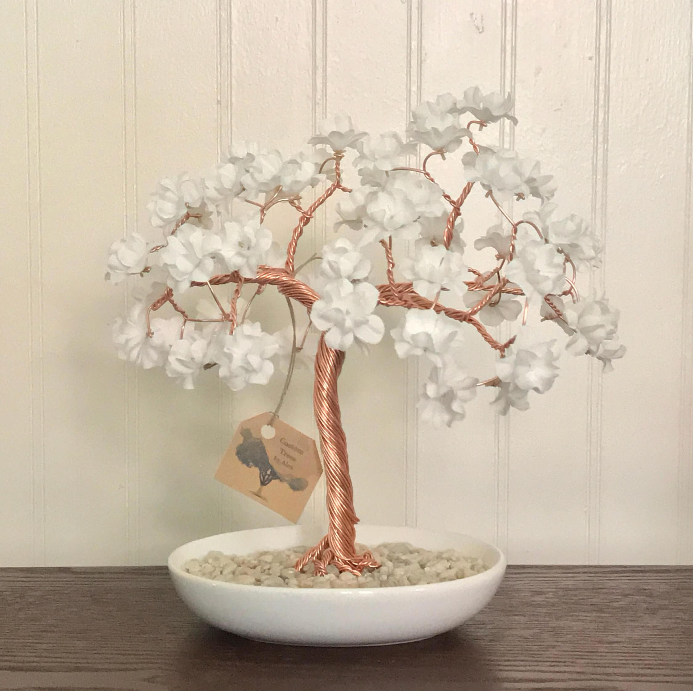 Large Wire Tree Sculpture