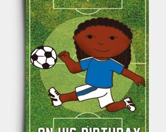 Top Scorer - Birthday Card