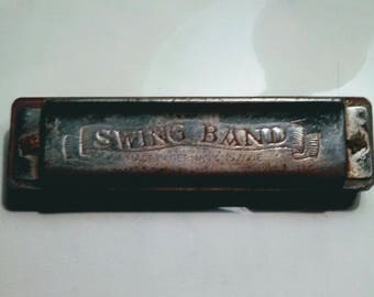 1940's Made in Germany U.S. Zone Swing Band Harmonica