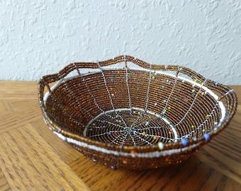 Decorative Bead Bowl