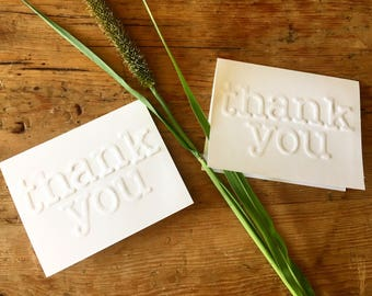Thank You Cards (pack of 4)