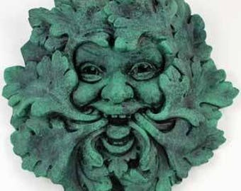 Greenman Wall Plaque