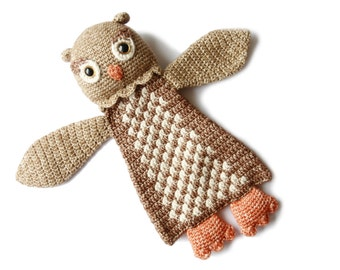 Owl Ragdoll crochet amigurumi pattern PDF INSTANT DOWNLOAD
