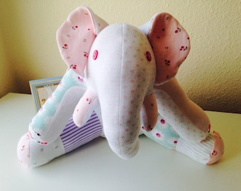 Keepsake Elephant from your Baby Clothes