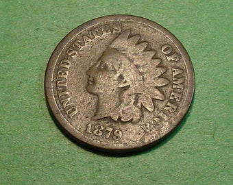 1879 Indian Head Cent Good  <> The Coin you see is the coin you get <> Free S.H. to U.S.<> Insurance Included in SH <>ET9995