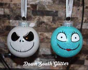 Jack Skellington & Sally, The Nightmare Before Christmas Ornament
