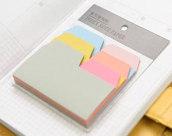 Index Note - Sticky Notes - 6 different colors - 90 sheets