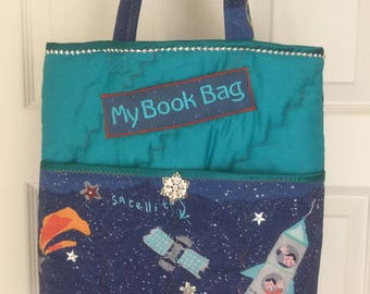 Space Book bag