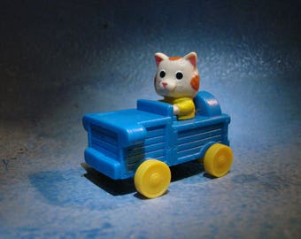 Vintage Huckle Cat Car Toy Richard Scarry Busytown
