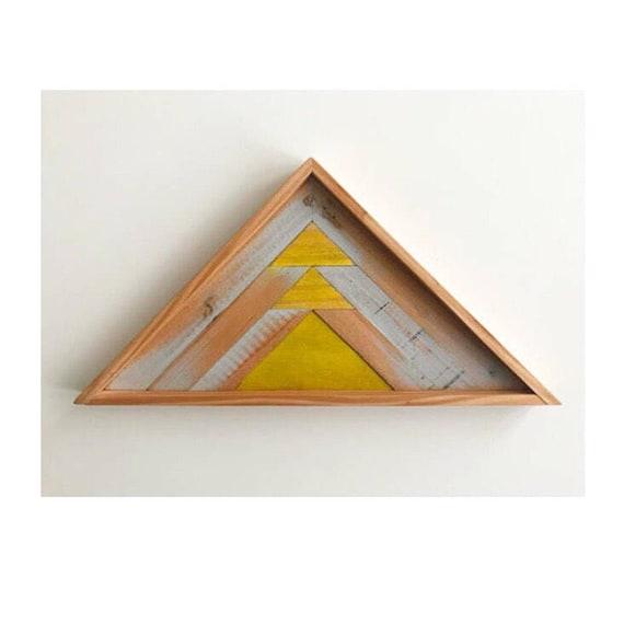 Reclaimed Lath Mountain Art, Mountain Wood Art Wall, Modern Mountain Wood Art, Rustic Mountain Wood Art, Industrial Mountain Wood Art