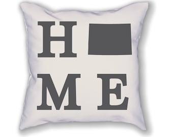 Colorado Home State Pillow