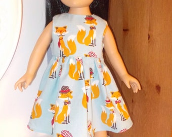 Americangirl dress, doll 18 inch