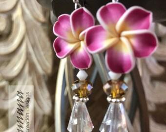 Pua Melia (Plumeria) Collection - Medium Fuschia