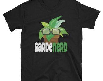 GardeNerd Gardening Gardener Fathers Day Gift Shirt