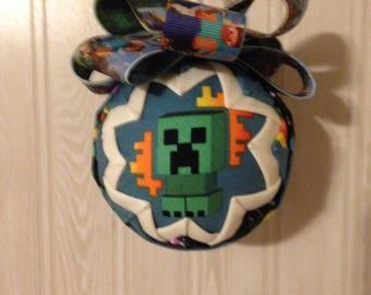 Creeper/Minecraft Fabric Ornament