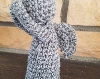 Doctor Who inspired Weeping Angel Crochet Amigurumi