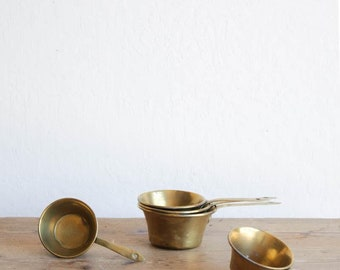 Brass Pot set of 5