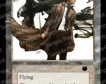 Magic the gathering Foil Token : Angel Castiel