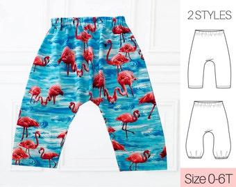 Harem Pants Pattern, Harem Sewing Pattern PDF, Baby Sewing Pattern, Boys sewing pattern, Pants Pattern, Trousers Pattern, AVERY