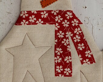 Snowman Table Runner- Download Pattern