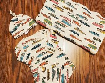 Knit Receiving blankets