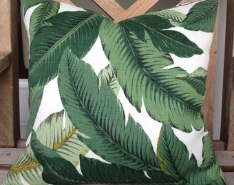 Tommy Bahama Swaying Palms outdoor/indoor cushion cover.