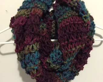 Chunky Weekend Scarf - Mulberry Bush