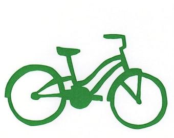 green cruiser bike card