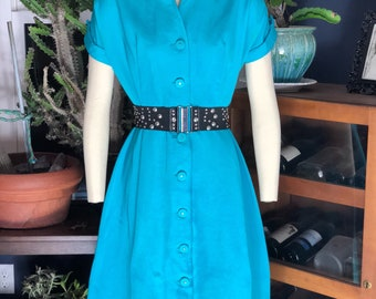 1950's vintage rockabilly dress